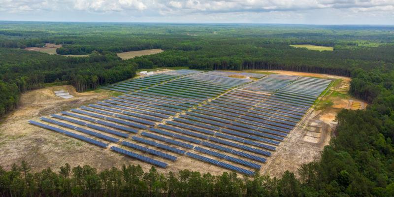 Grissom Solar Site