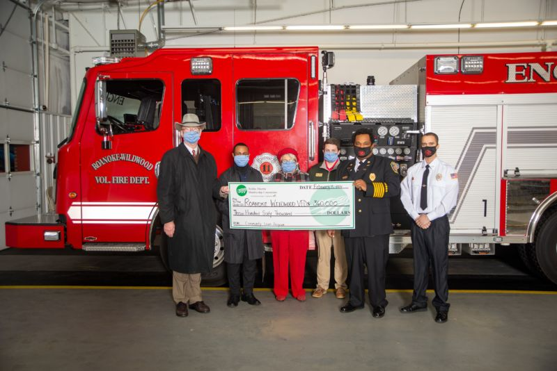 Roanoke-Wildwood VFD Check Presentation